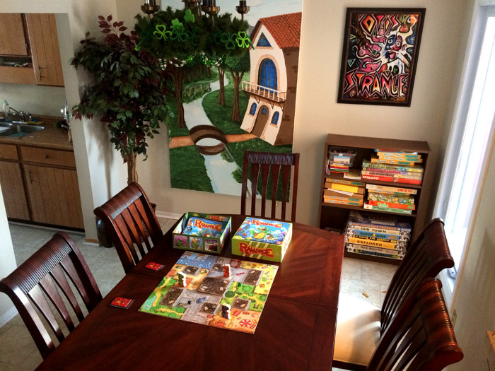 Junkyard Symphony's Groovy Games Gallery, The Board Games Room