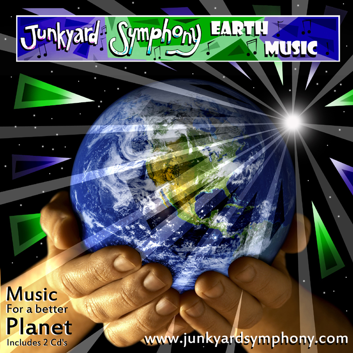Junkyard Symphony's new Earth Music!