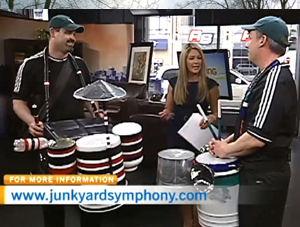 Junkyard Symphony on CTV Morning Live